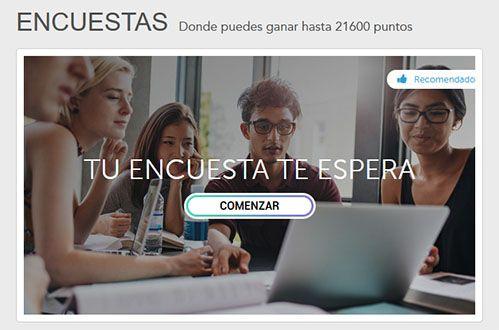 Encuestas Disponibles en Toluna