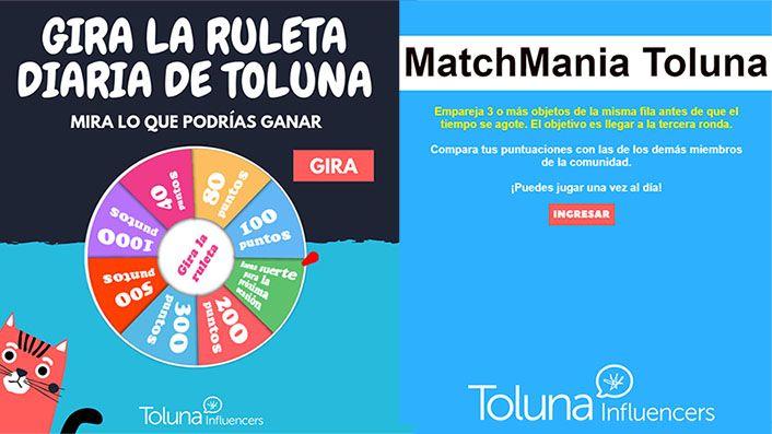 Juegos en Toluna
