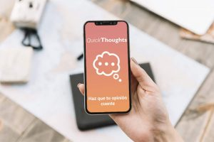 QuickThoughts App - Opina y gana recompensas